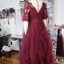 Custom Mother Of The Groom Dress