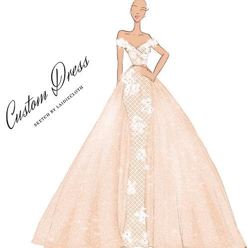 Custom Dress Sketch