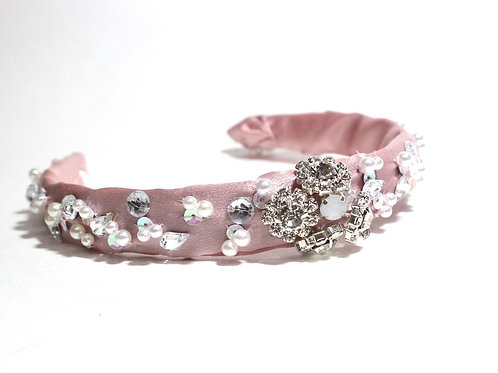 Baby Pink Headband, Headwear, Hair Accessories