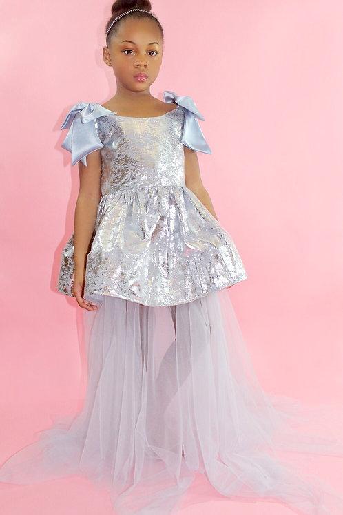 Cinderella dress, Flower Girl Dress, Girls Dress, Special Occasion Dress