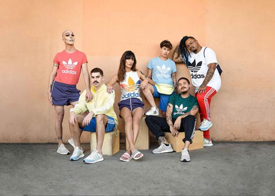 Campanha Pride Pack da Adidas produzida 100% pela galera da Casa 1