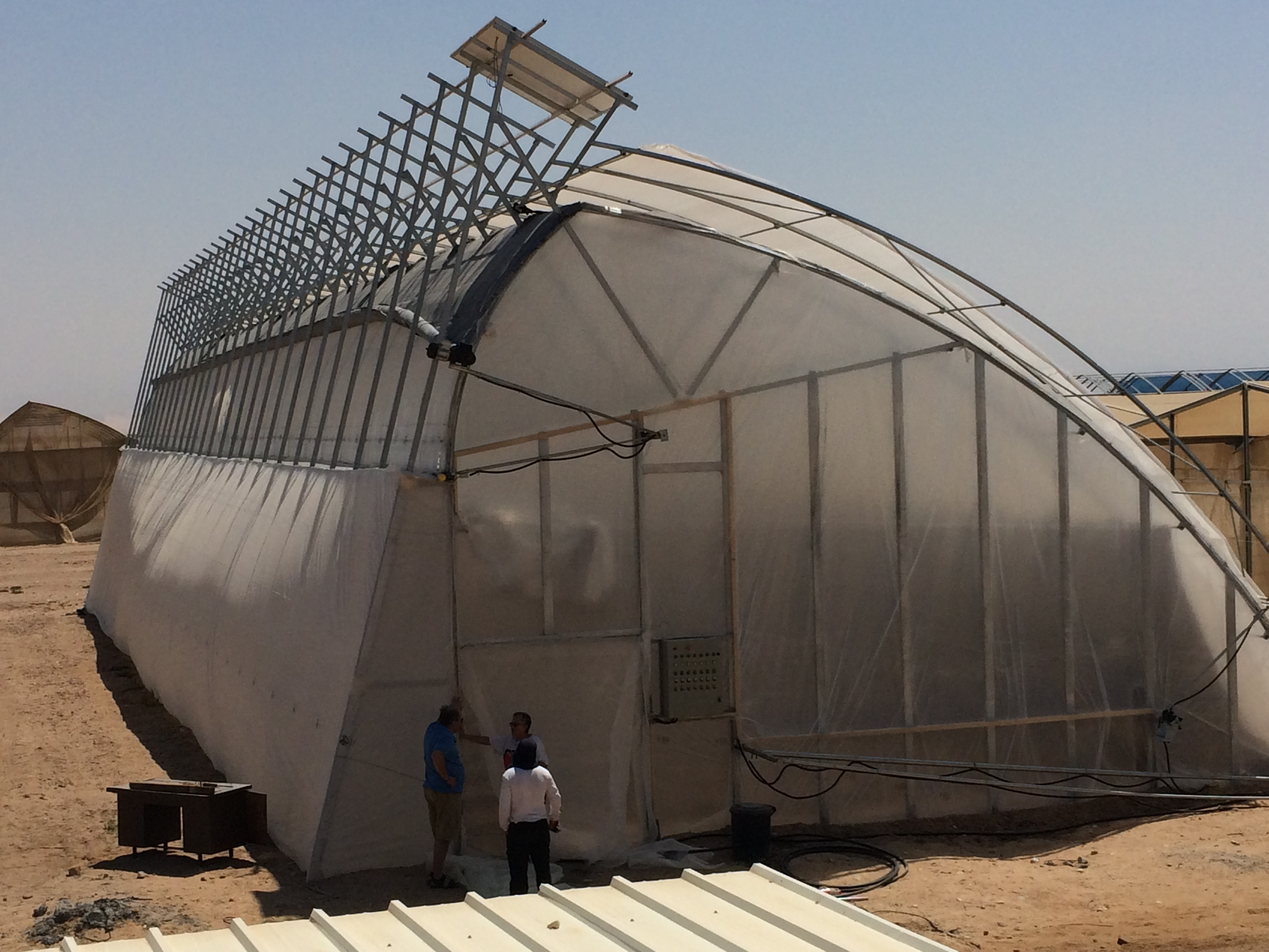 EnviroDome® in ARAVA Center 5