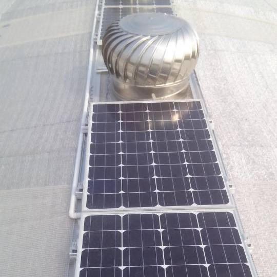 EnviroDome® solar ventilation 1