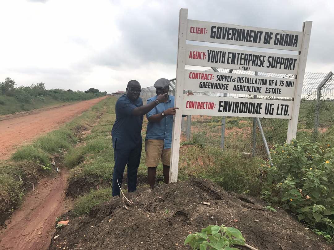EnviroDome® in Ghana 1