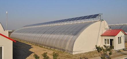 EnviroDome® Agri-Solar Greenhouse