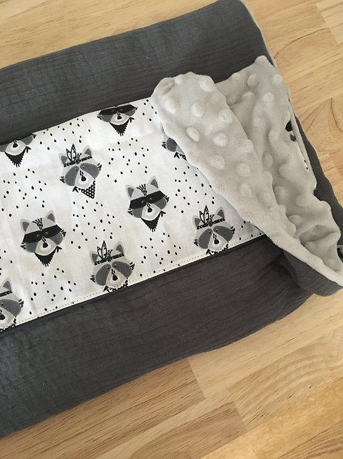 Couverture bébé Raton masqués