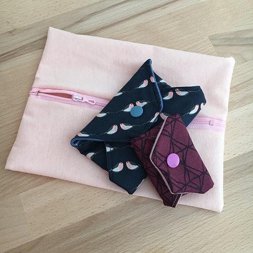 Les pochettes roses