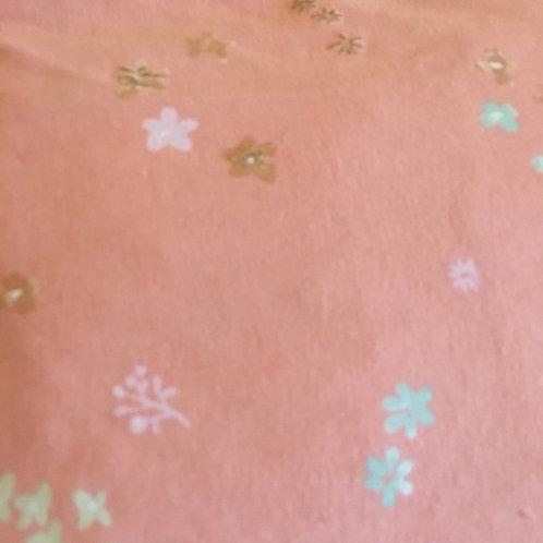 Bouillotte fleurs rose