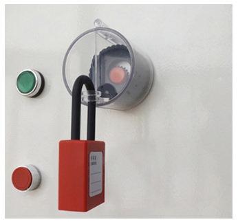 Bloqueio para Botão de Emergência - RE015