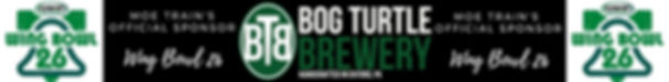 Bog Turtle Brewery Wing Bowl Sponsor - Moe Train