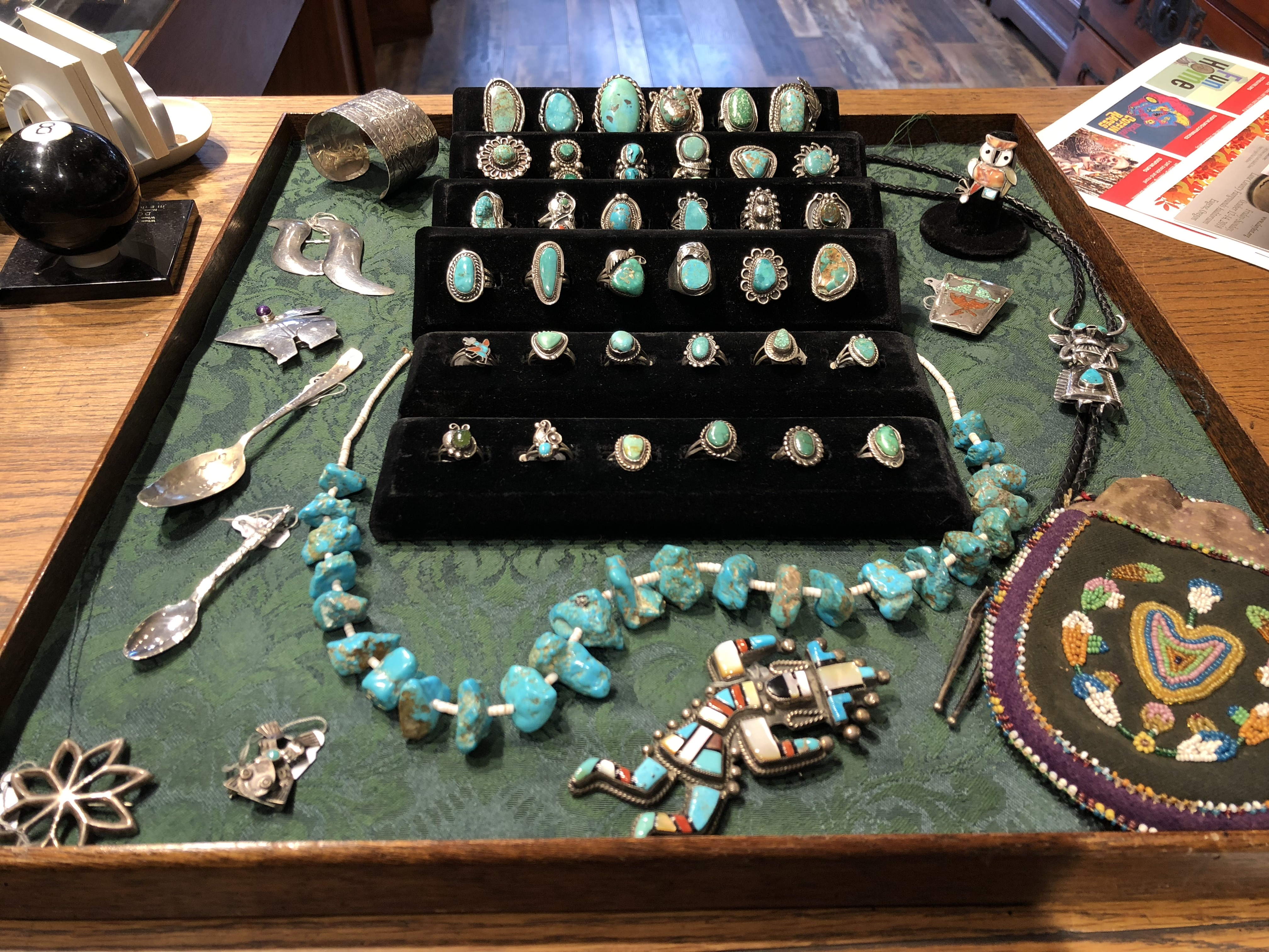 Southwestern sterling jewelry