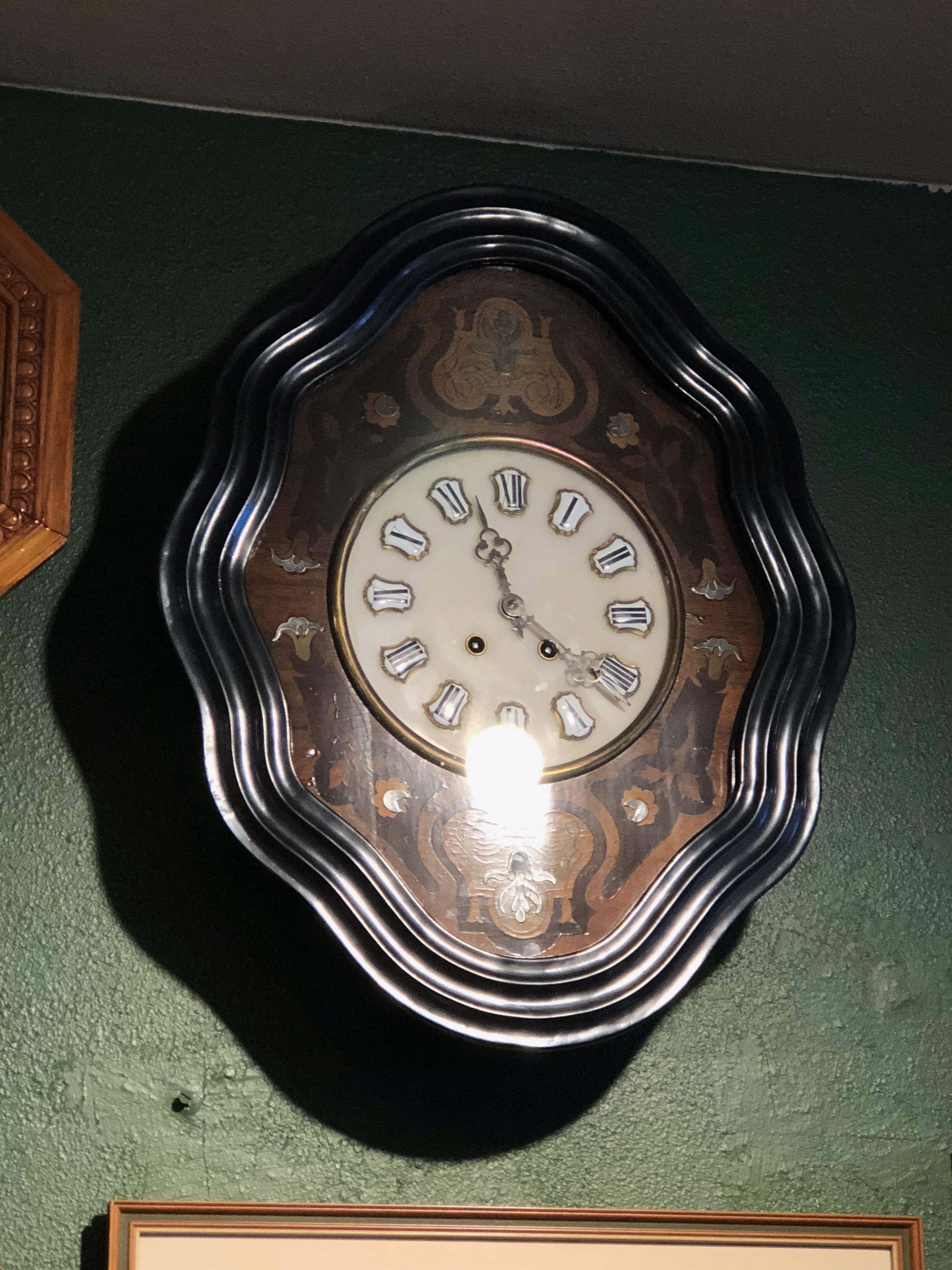 French 1870 Cartel clock