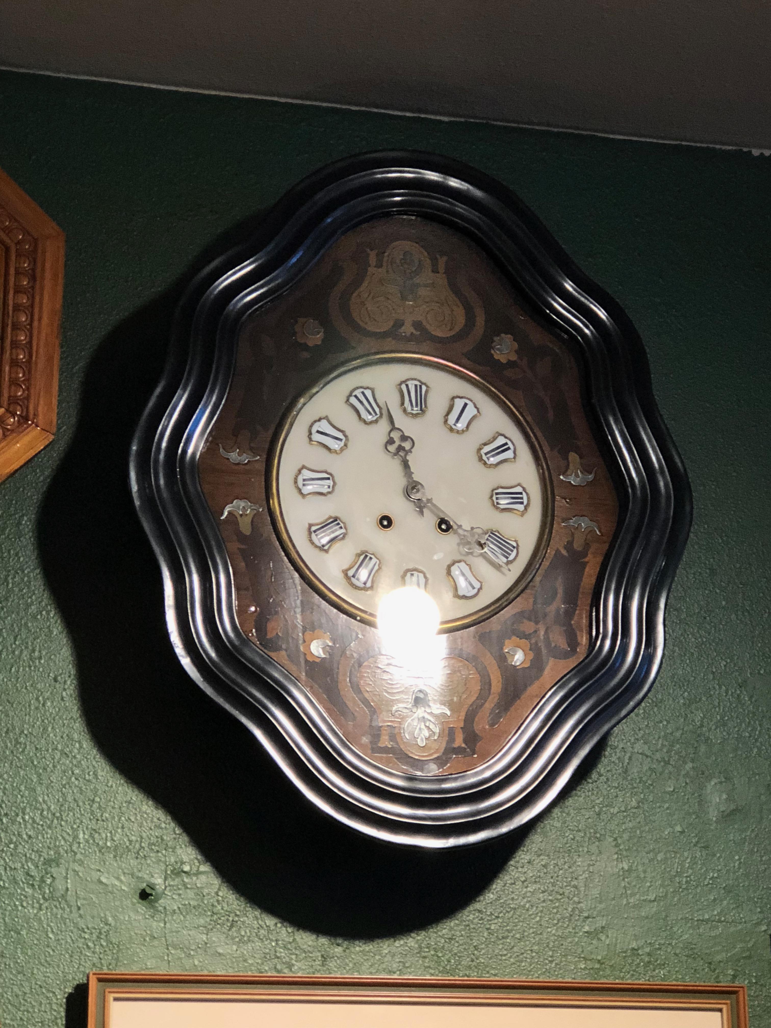 French 1870 Cartel clock