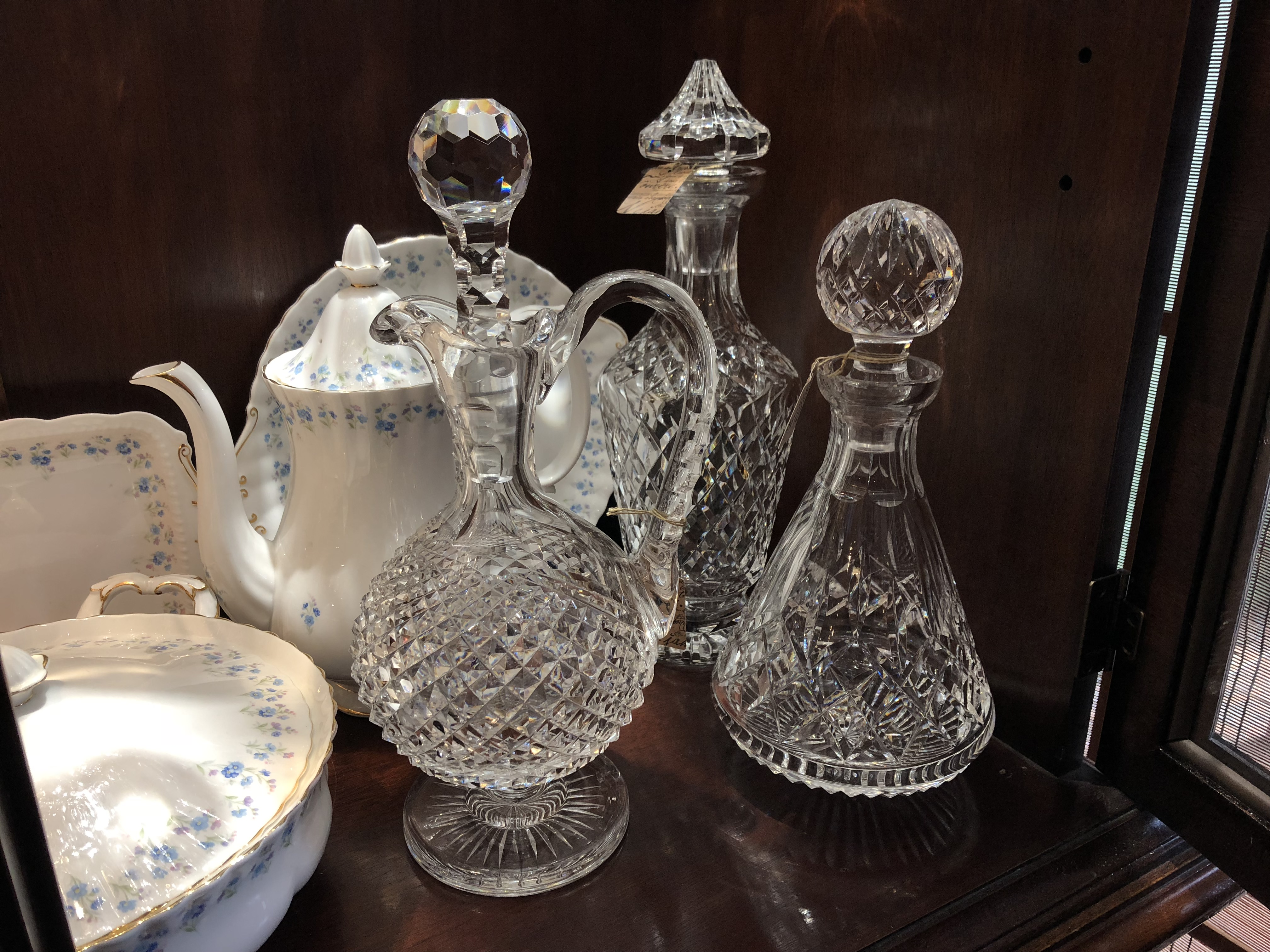 Vintage Waterford decanters