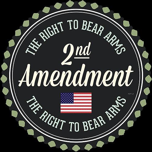 2nd Amendment Soy Candle