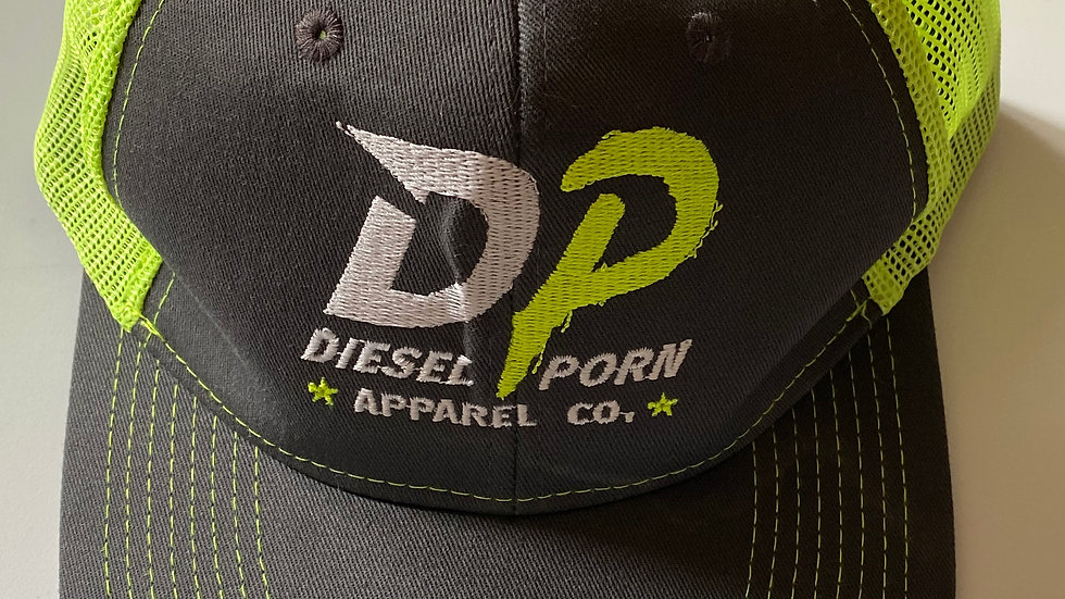 Green Mesh Trucker Hat