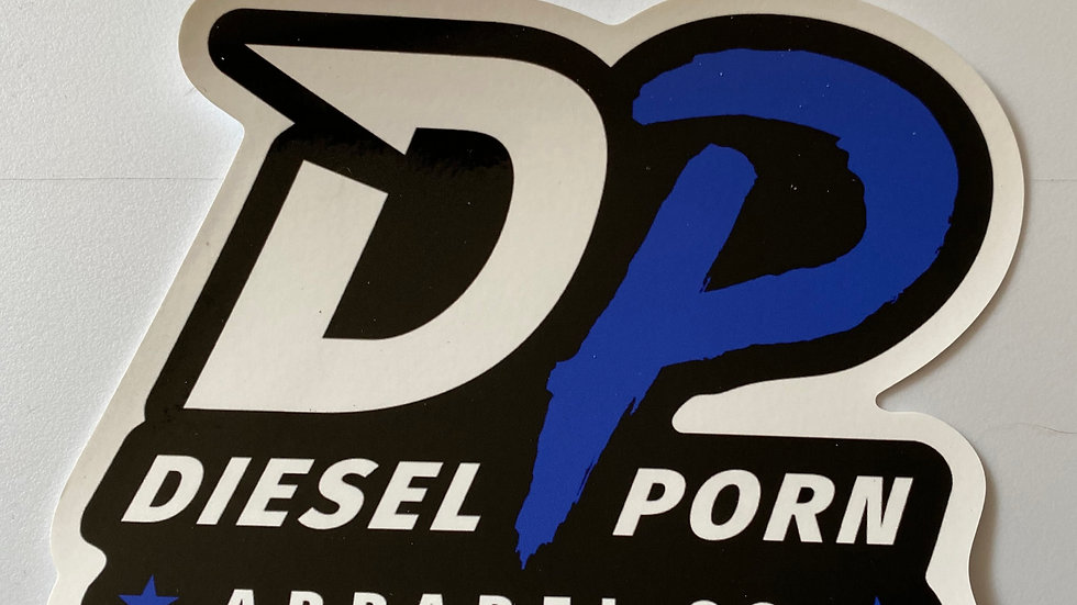 DP Static Cling Sticker (small)