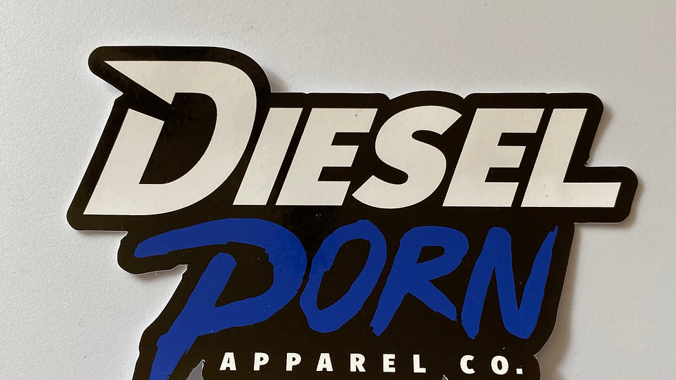Diesel Porn Static Cling Sticker (small)