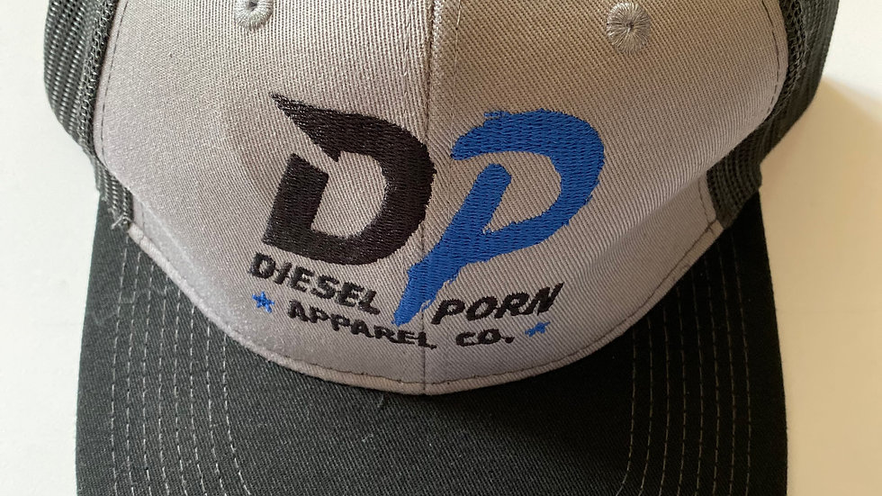 Grey/Black Mesh Trucker hat
