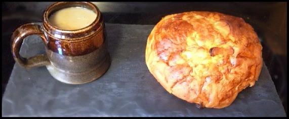 Coffee and Irish soda bread