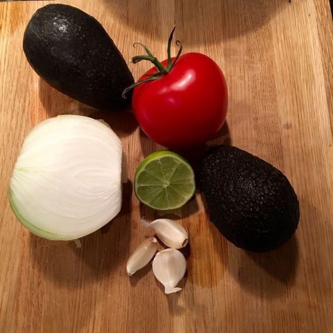 Guacamole Ingredients