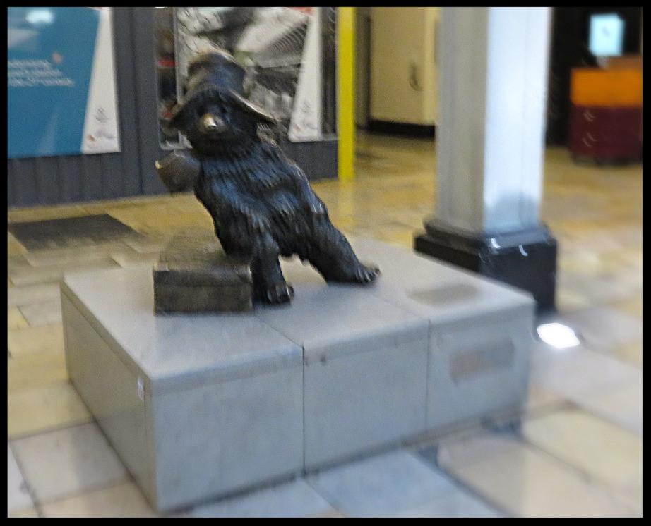 Paddington Bear, Paddington Station, London, England