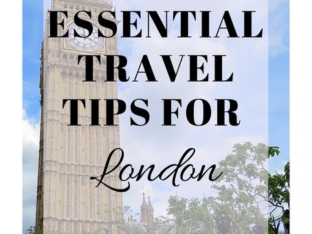10 Essential London Travel Tips.