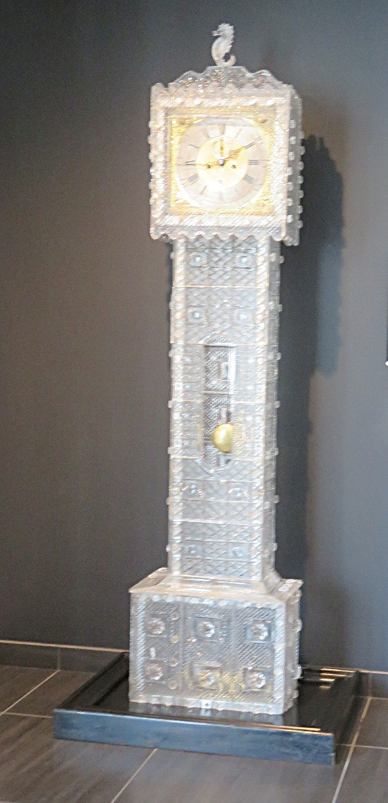 Grandfather clock at Waterford Crystal Factory, Waterford, Ireland
