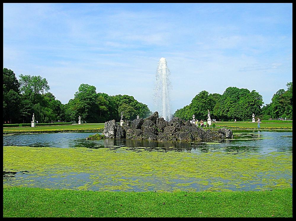 Gardens at Nymphenburg Palace, Munich, Germany