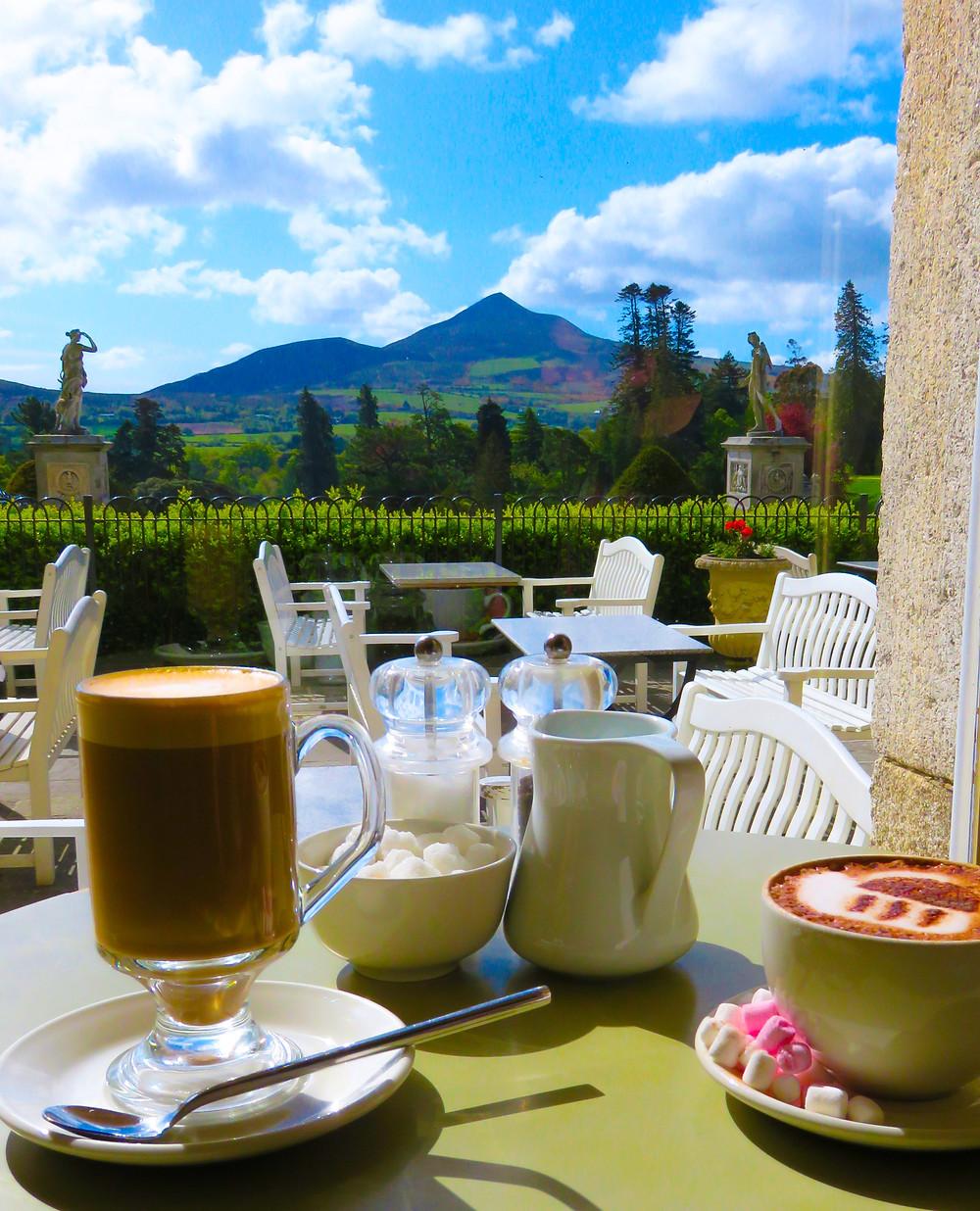 Cafe at Powerscourt Estate, Wicklow, Ireland