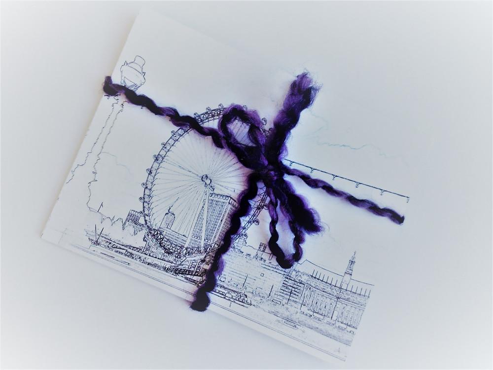 London Eye travel postcard Sweet Frivolity