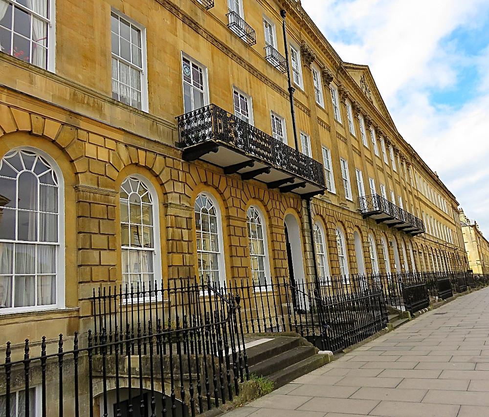 Georgian houses, Bath, England