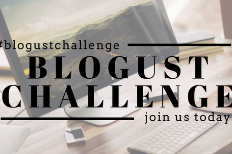 Join us for the Blogust Challenge!