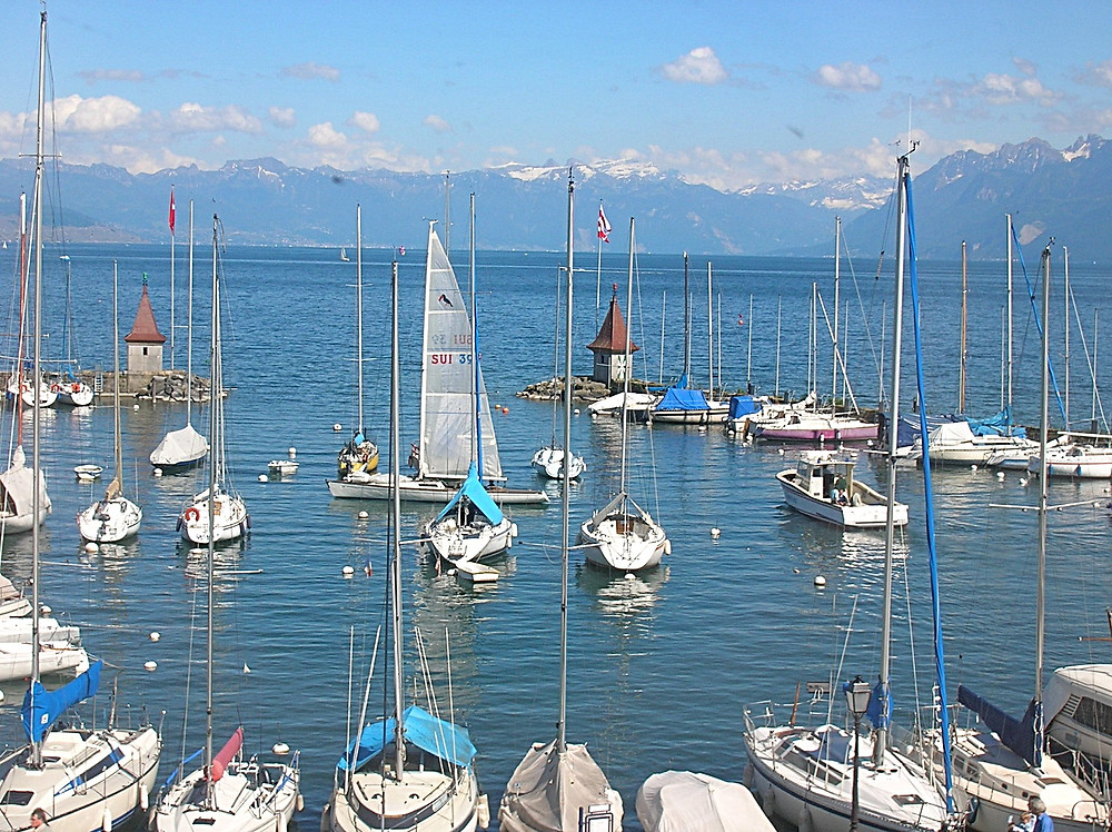 Lac Leman, Switzerland