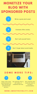 How to Monetize Your Blog Infographic