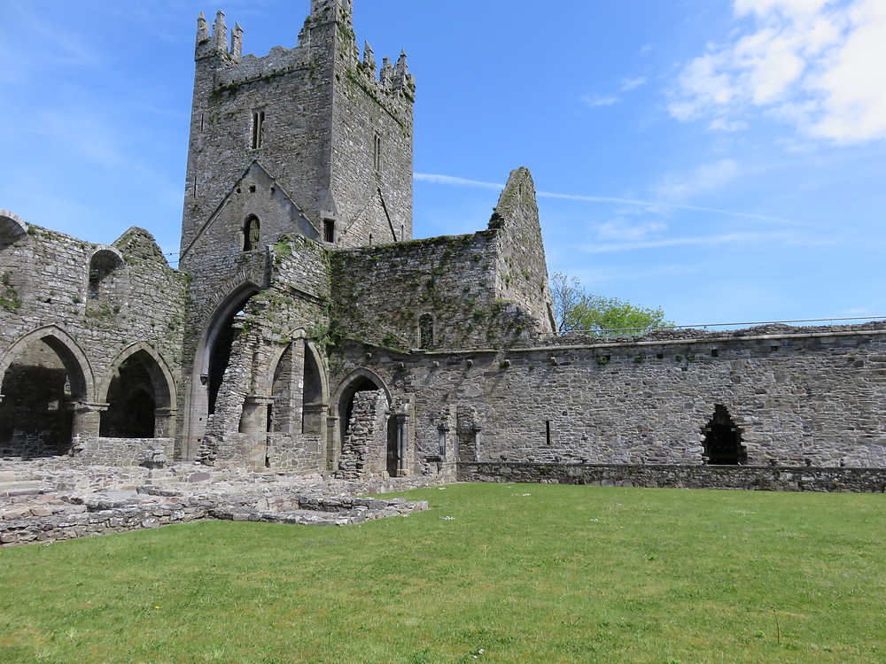 Jerpoint Abbey, Kilkenny, Ireland