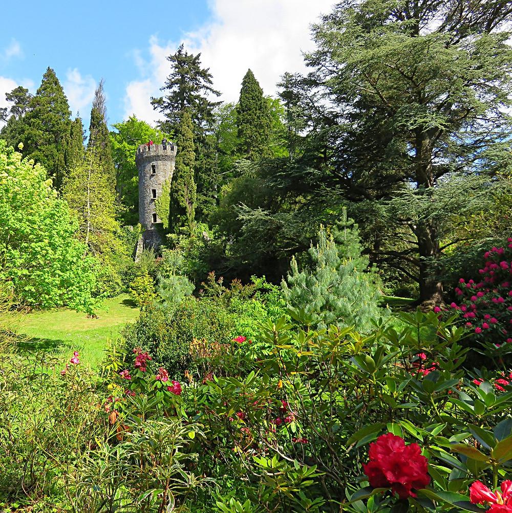 Gardens at Powerscourt Estate, County Wicklow, Ireland