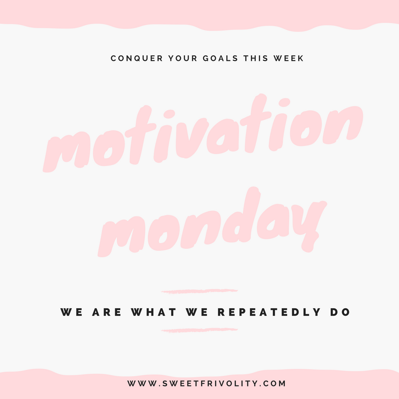 Motivation Monday graphic