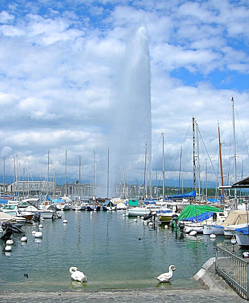 Jet D'eau, Switzerland
