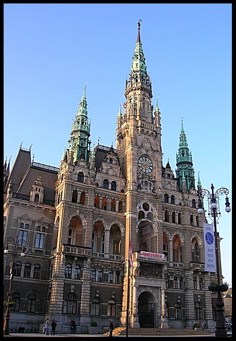 Liberec Town Hall, Liberec, Czech Republic