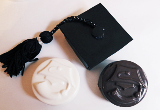 Graduation Favors Chocolate Covered Oreos