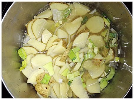 Potato Leek Soup Recipe.