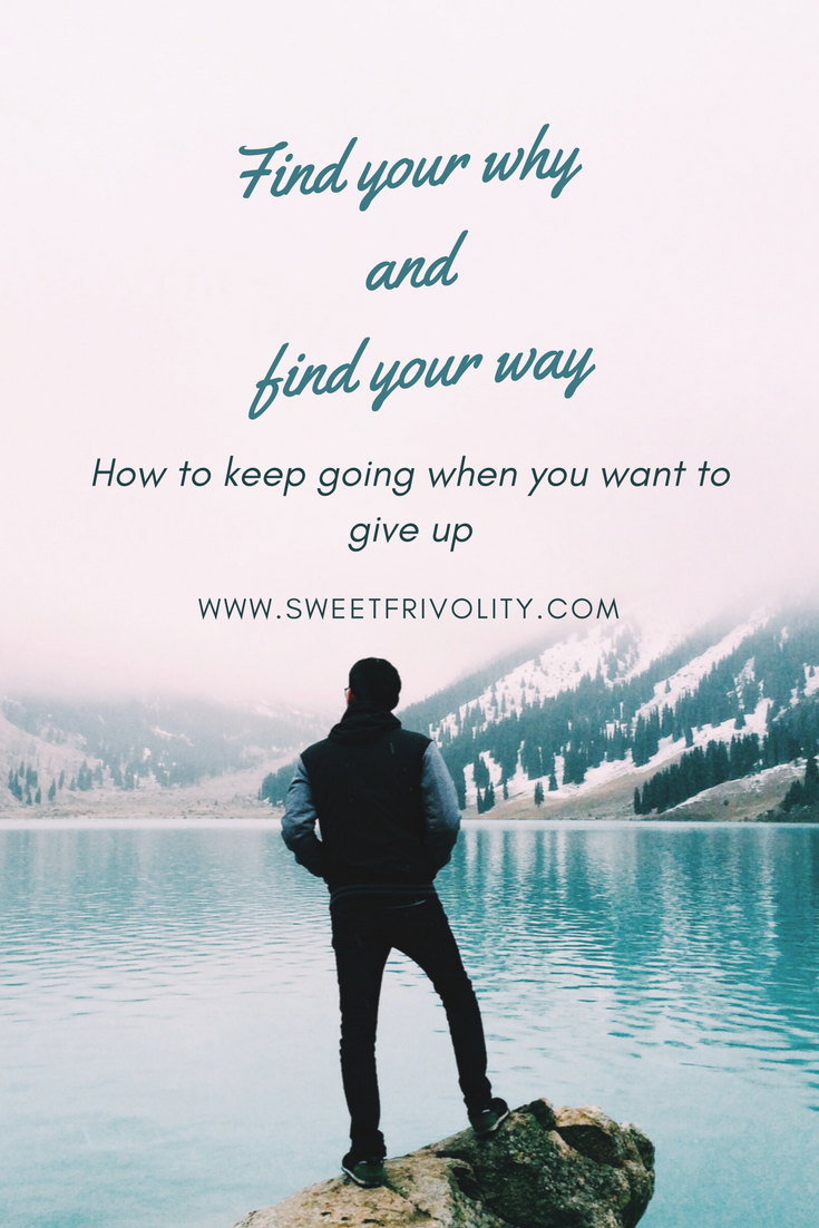 Find your why and find your way graphic
