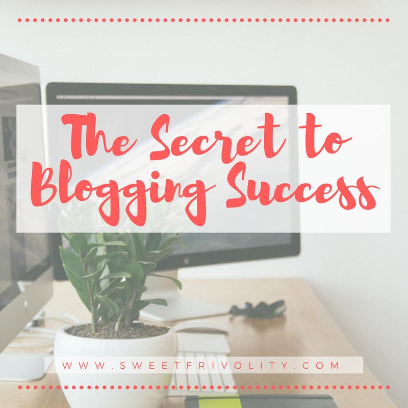 The secret to blogging success