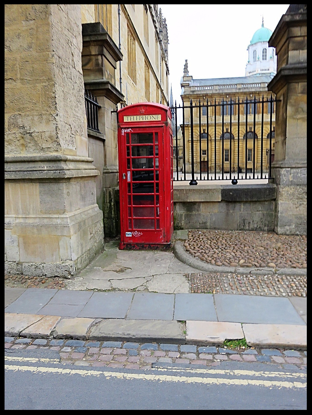 Telephone booth, Oxford, England