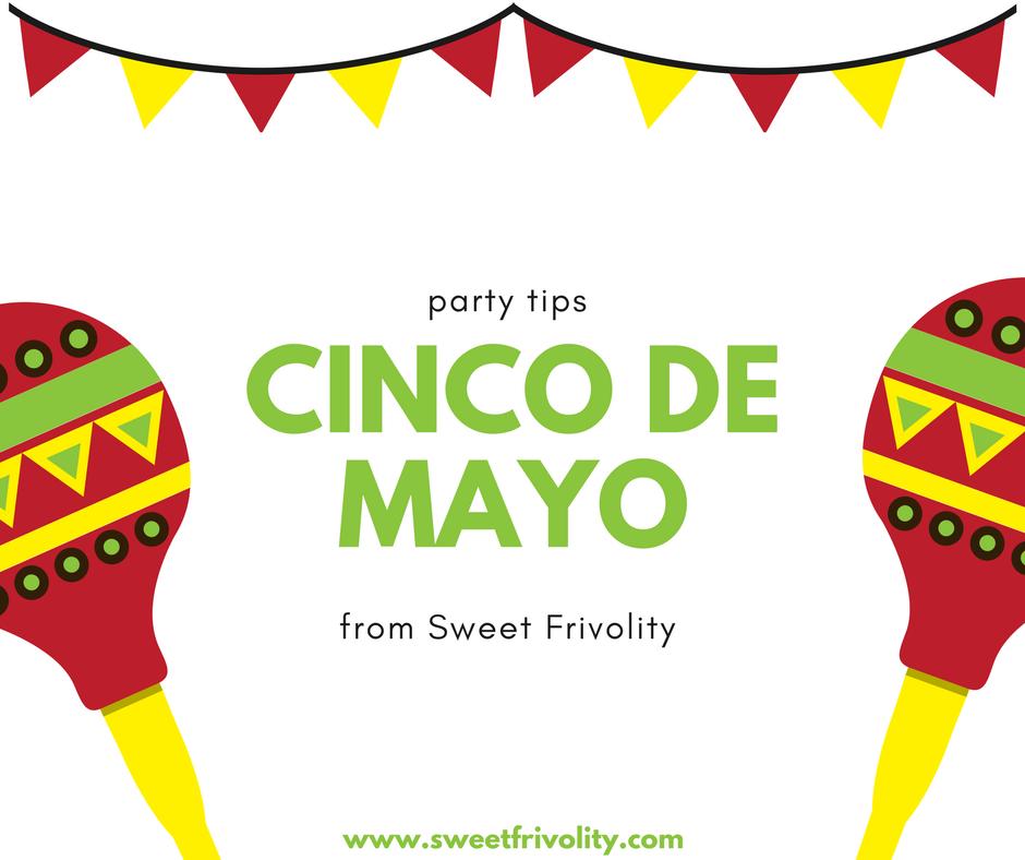 Cinco de Mayo Party Tips Graphic
