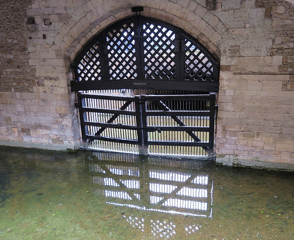 Traitor's Gate, Tower of London, London, England