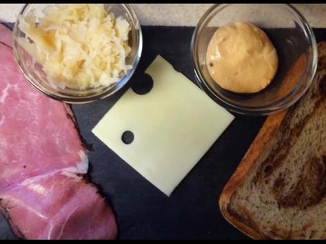 Reuben Sandwich and Potato Hash Recipe.