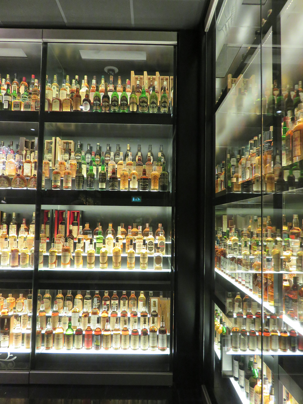 Scotch whisky collection