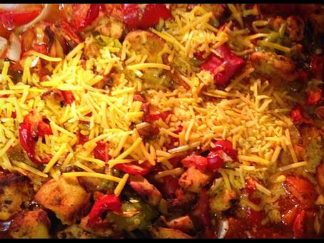 Chicken Enchilada Casserole Recipe.